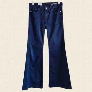 Y2K Gap super flare dark wash jeans